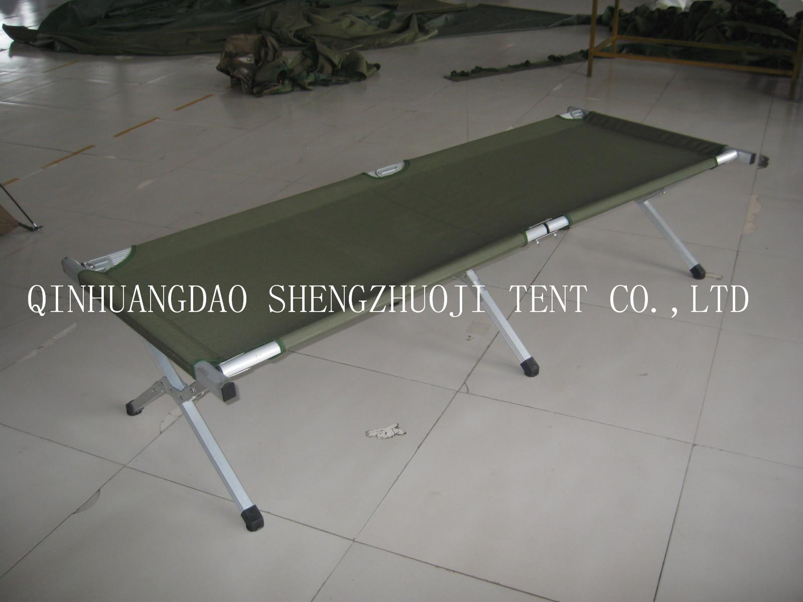 aluminum camping bed